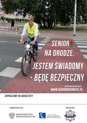 Senior rowerzysta - wersja ostateczna z wyrównaniem do akceptacji