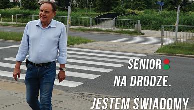"""""""Senior na drodze. Jestem świadomy – będę bezpieczny"""""""